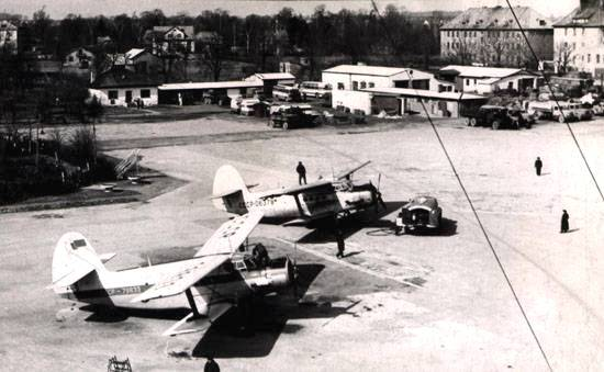 Panorama of Devau airport in Kaliningrad.jpg