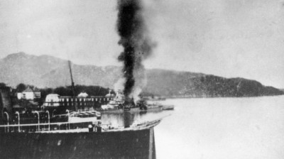 Konigsberg_burning_10.4.40_view_from_sea.JPG