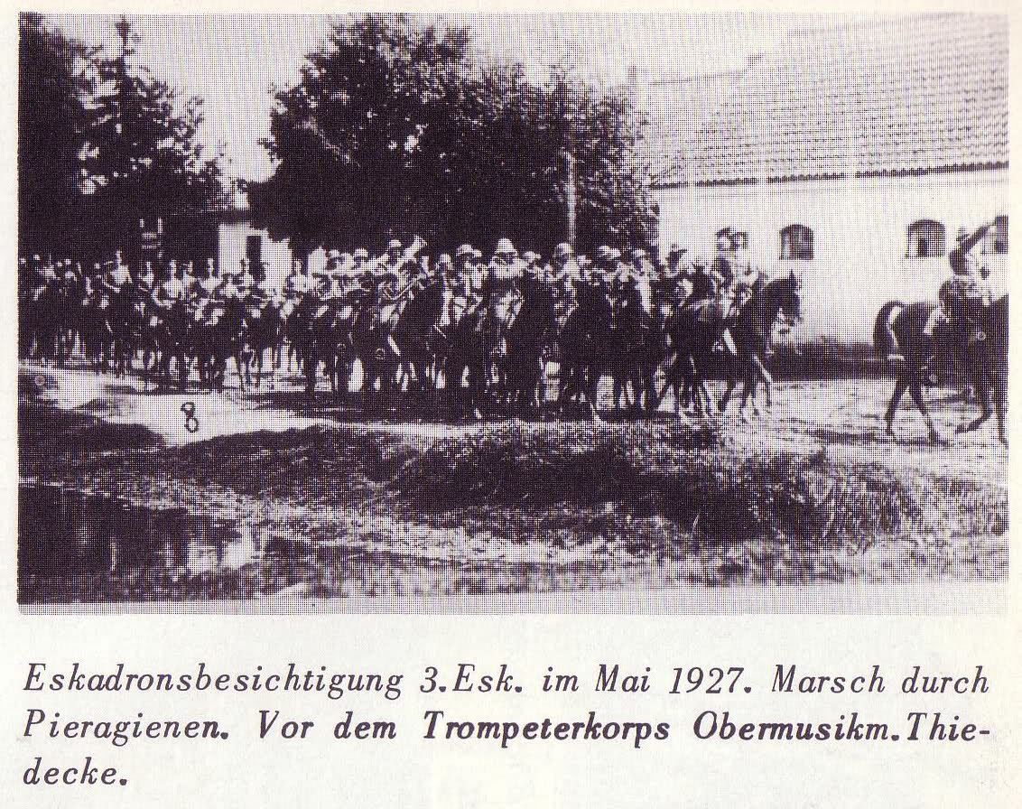 1927[5] Mai. Das Reiter-Regiment 1 in Insterburg п.jpg