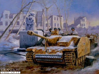 Stug III Tank Military Art Prints by David Pentland.jpg